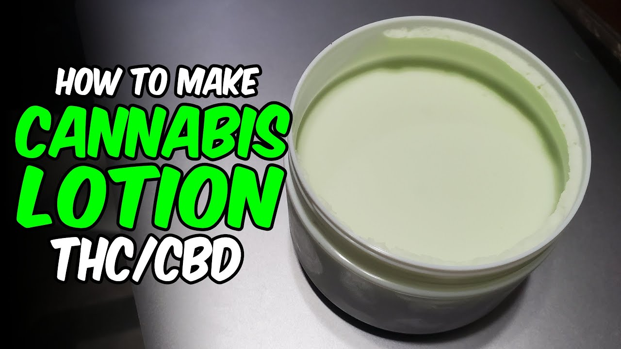 Download How to make Cannabis Lotion THC / CBD