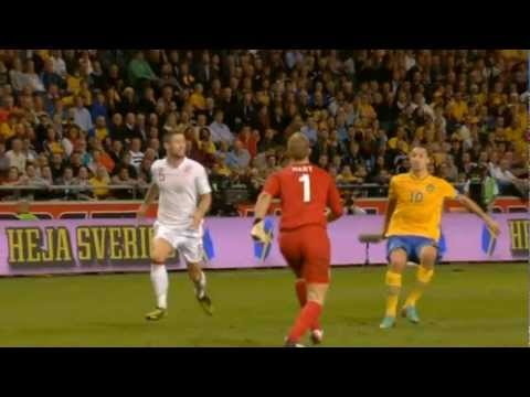 Zlatan Ibrahimovic vs England 4-2 Friendly Match