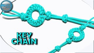 World of Paracord How to make Paracord Keychain Keyfob Bookmark Christmas Ornament Paracord Tutorial