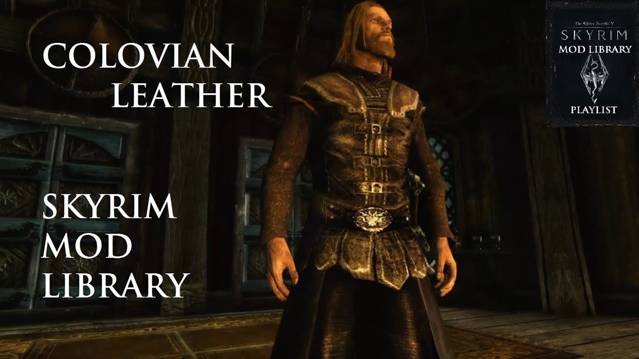 Colovian Leather - Skyrim Mod Library