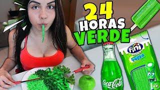 NAMORADA 24 HORAS so COMENDO COMIDA VERDE
