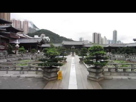 Visiting Chi Lin Nunnery in Hong Kong
