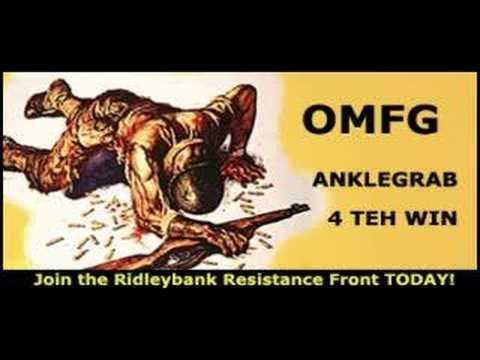 The Ridleybank Resistance Front wants YOU!