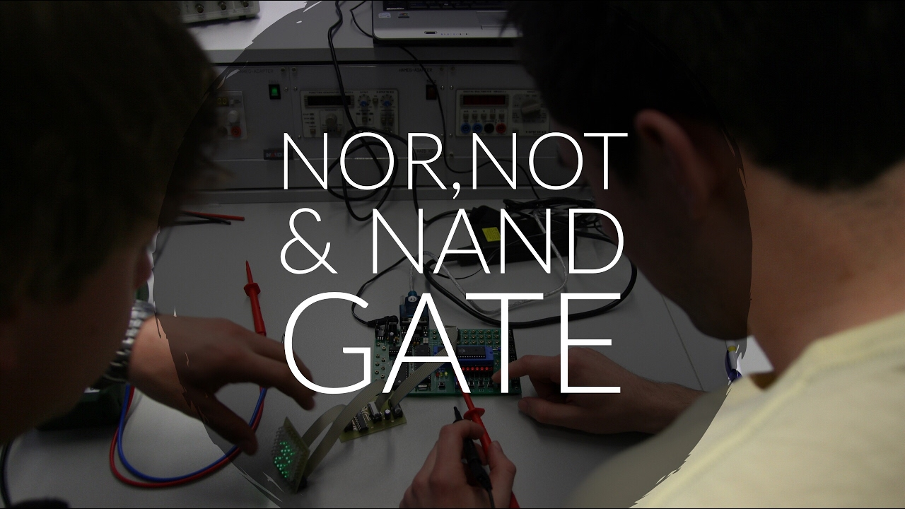 ladder diagram nor gate not nand gate mechatronics lectures [ 1280 x 720 Pixel ]