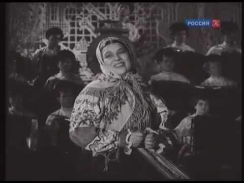 И кто его знает HD Поет Лидия Русланова 1941 г Lidia Ruslanova HD I Kto Ego Znaet Russian Love Song