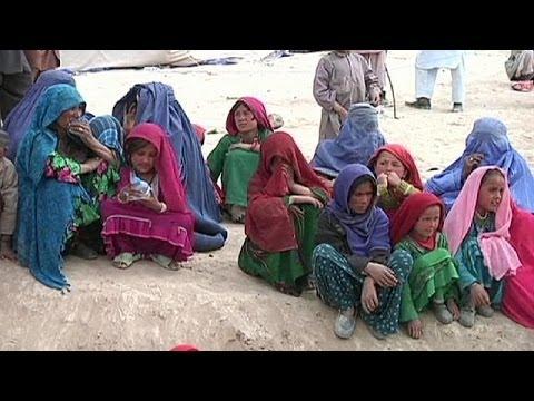 Hundreds killed in Afghanistan landslide - no comment