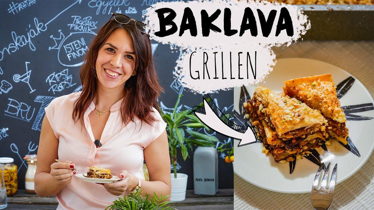 BAKLAVA grillen - 1500 kalória 1 tányéron 😱