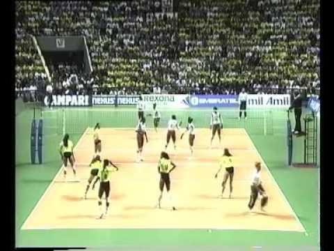 WCH 1994 Women Brazil Sao Paulo final CUB-BRA set1