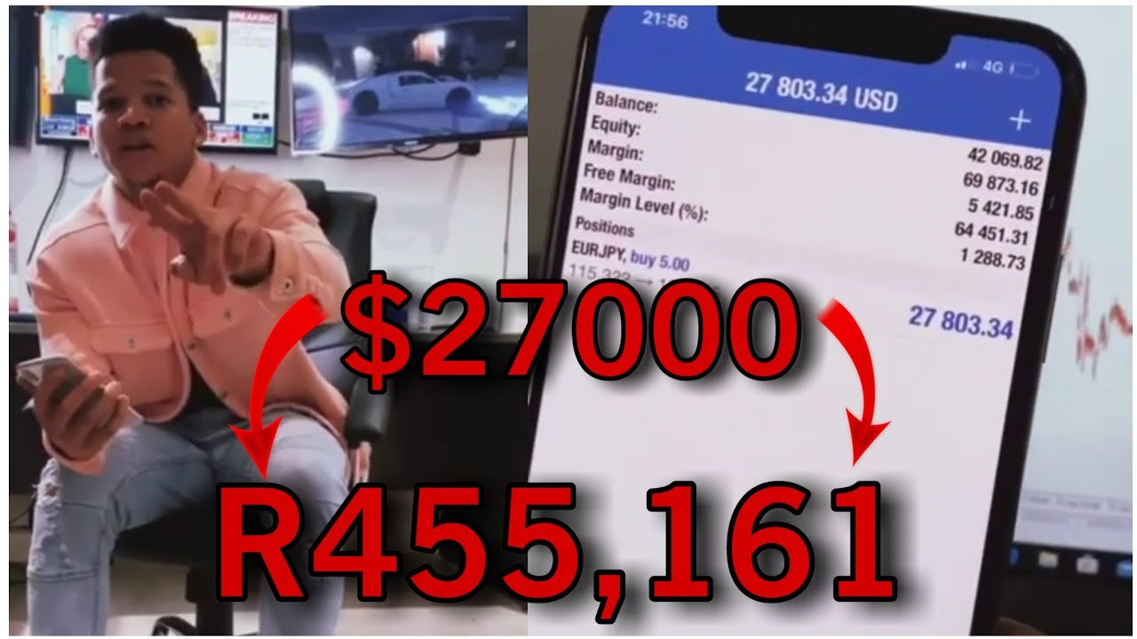 Jason Noah (Forex King) Makes $27000 (R455,161) With One Trade