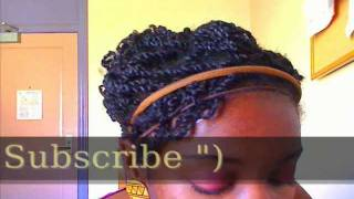 Easy Two strand Twist style