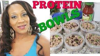 BLAKKANDI High Protein Bowls #Foodprep
