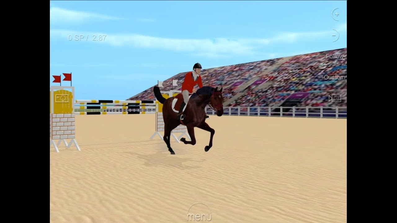 horse jumping games
