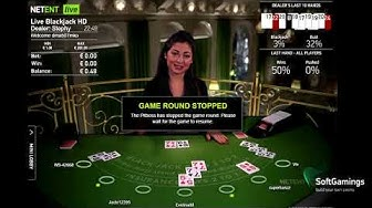 NetEnt - LiveCasino Dealer Roulette 6 - Gameplay demo