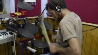 Muskurane ki waja tum ho drums cover song by manu maru