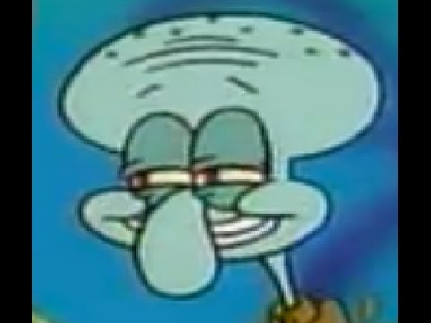 SpongeBob- T-T-Tonight Squidward Sparta Remix - YouTube  Spongebob Meme Squidward