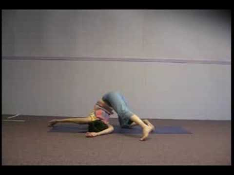 yoga shoulder stretches part one  youtube