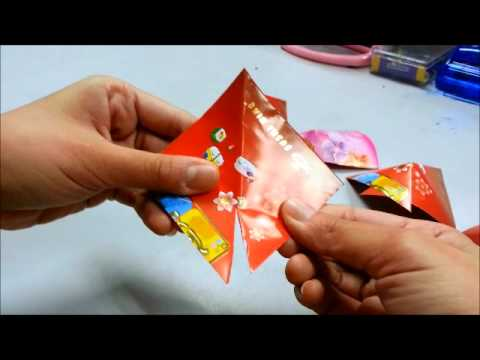 Daily origami 222 chinese new years ang pow goldfish for Ang pow koi fish tutorial