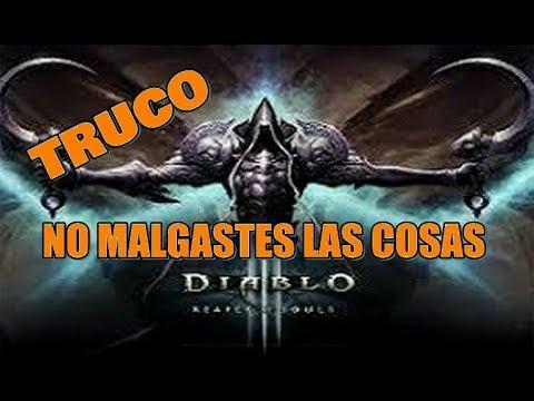 Diablo 3 RoS (Truco) no MALGASTES las COSAS /PS3 - 360