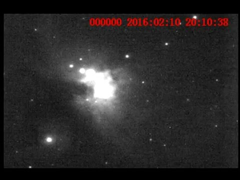 Video e Imagenes  Personales de Messier 42 , 10 de Febrero 2016 TL.