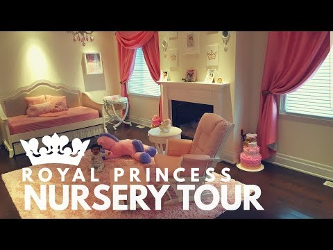 GRAND ROYAL BABY PRINCESS NURSERY TOUR!