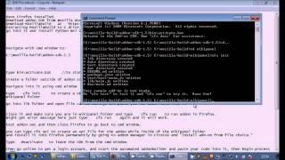 Beginner Firefox Extension Creation Add-on SDK Installation Tutorial for Windows 7