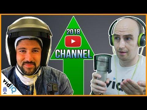 Small Channel In 2017 - HUGE Channel In 2018: VidIQ Interviews Stef ABtv