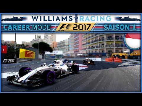 F1 2017 Mode Carrière [FR] PART 6 - CARNAGE A MONACO !