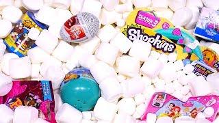 marshmallow madness surprise eggs aquarium inside out ugglys disney princess toy eggs dctc