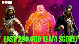 How to Easily Get 200,000 Team Score in Horde Rush LTM! Fortnite: Battle Royale
