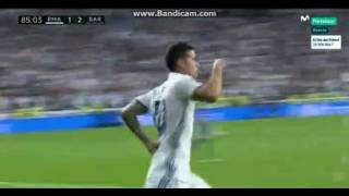 Gol de James Rodriguez   Real Madrid 2 3 Barcelona