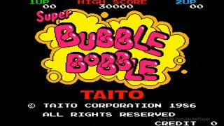 Super Bubble Bobble 1986 Taito Mame Retro Arcade Games