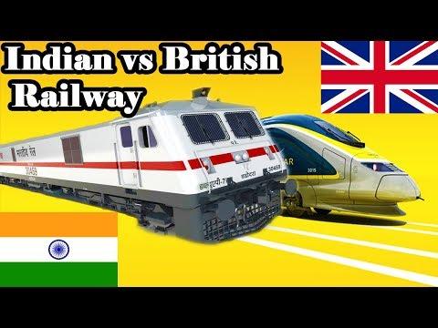 Indian Railways Vs British Railways Unbiased Comparison