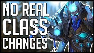 NO REAL CLASS CHANGES? Shadowlands Brings Back SO MANY ABILITIES