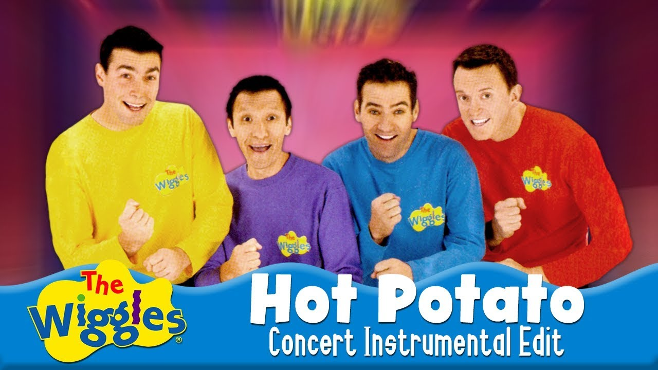 The Wiggles Hot Potato Concert Instrumental Edit Youtube