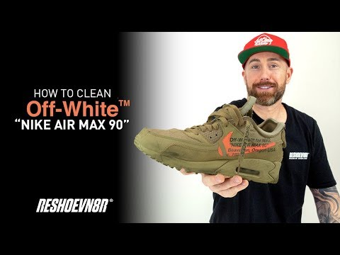 "How To Clean Air Max 90 Off-White ""Desert Ore"" With Reshoevn8r!"