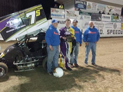 Skylar Hunter Feature Winner Dallas County Fairgrounds