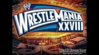 Wrestlemania XXVIII Theme Song - Invincible + Lyrics
