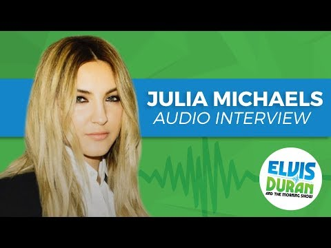 Julia Michaels Opens Up About Crippling Performance Anxiety   Elvis Duran Show