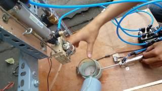 Mô hình khí nén – Máy pha cà phê tự động – Nhóm 06 – Lớp chiều T2A4 301 – ĐH SPKT TPHCM