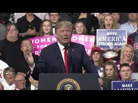 Trump Talks NKorea, Steel at Pennsylvania Rally