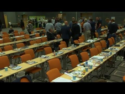 Årsmøte i Norges Bondelag, 14. juni før lunsj