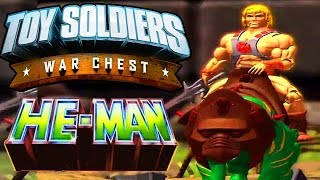 toy soldiers war chest walkthrough masters of the universe he man gameplay