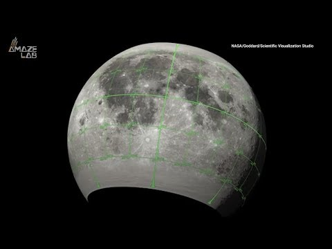 NASA releases amazing map of the moon for CGI animators