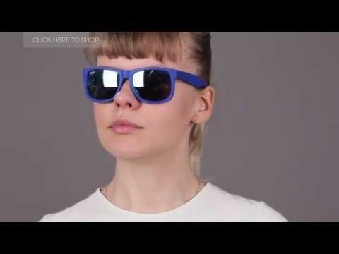 d4c1b40773 Ray Ban RB4165 Justin Sunglasses Review - YouTube
