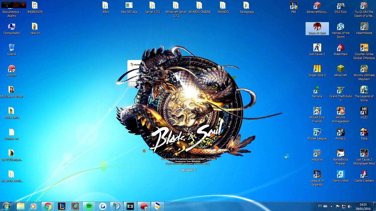 Solução Blade and Soul crashando, (erro 4049)/ How to Fix BnS crash