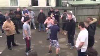 Ward vs Donovan Bareknuckle Fight  Part 1.