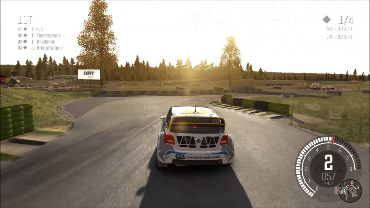 dirt rally volkswagen polo rallycross gameplay pc hd. Black Bedroom Furniture Sets. Home Design Ideas
