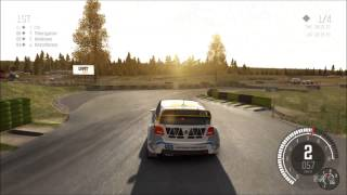 DiRT Rally - Volkswagen Polo Rallycross Gameplay (PC HD) [1080p]