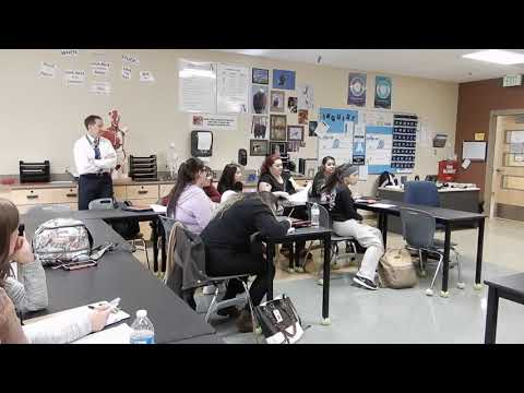Alameda International High School - EMR Class Task
