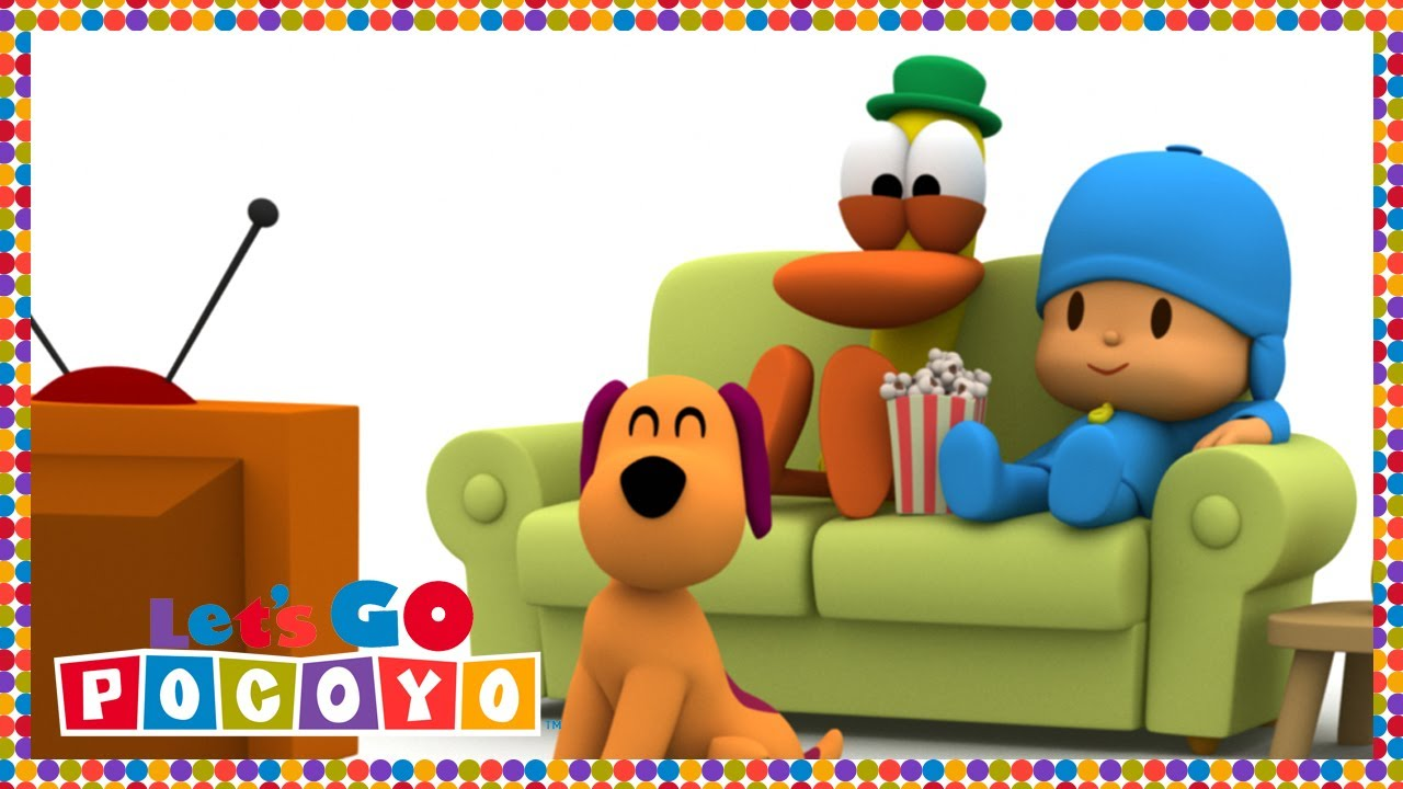 let 39 s go pocoyo pato 39 s living room episode 42 in hd youtube